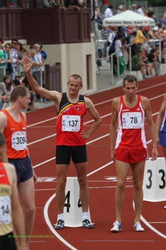 Didier Rigot finale 800m M45 ZIttau Evacs