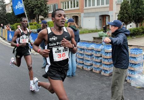 20Km de Bruxelles Team Gala Priminvest en action